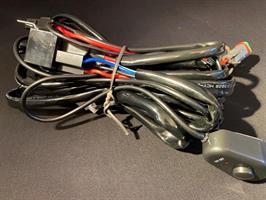 Kabelstam 12V med dubbla kontakter