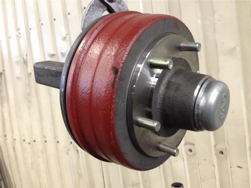 Bromsad axeltapp 90x90mm 5 ton Art.nr: 617988