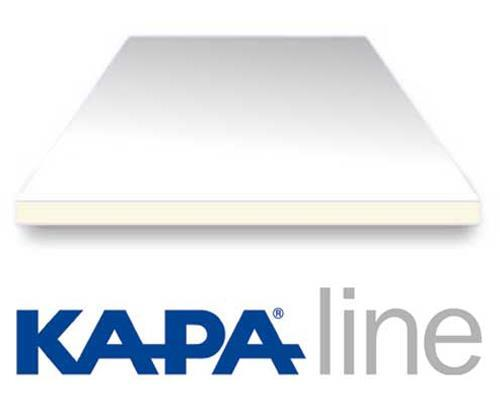 Kapaline 5mm sort 70x100cm foam boards