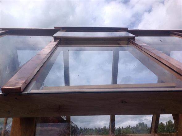 Takluckor tillverkade i ek o glas