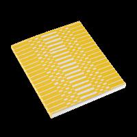 Notatblokk 170x200 Helios Gul