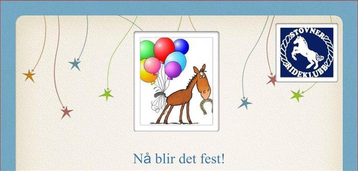 Årsfest i Stovner Rideklubb