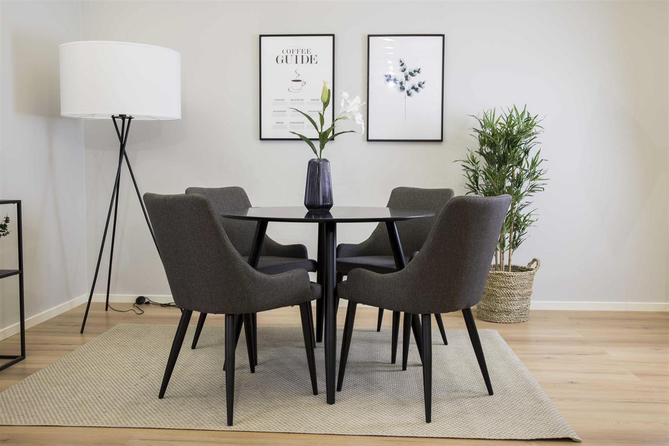 Plaza matbord och 4 st Plaza matstolar