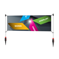 PVC Banner 4 x 1 m