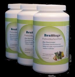 BraMage Prebiotika/kostfiber 3 stk.