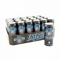 Frank's Energizer Blueberry, 500 ml  inkl.Pant