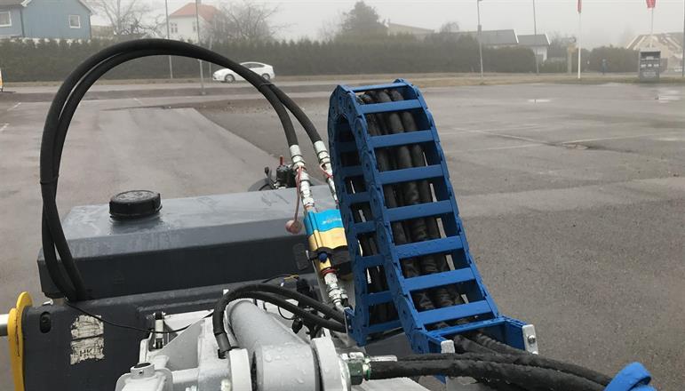 Kvalitet - Kosting av parkeringsplasser med hjullaster gir flotte resultater!