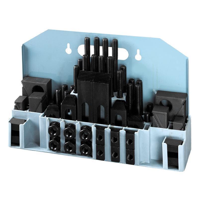 DIESELLA CLAMPING SET 58 PCS M12 T-SLOT 16 MM