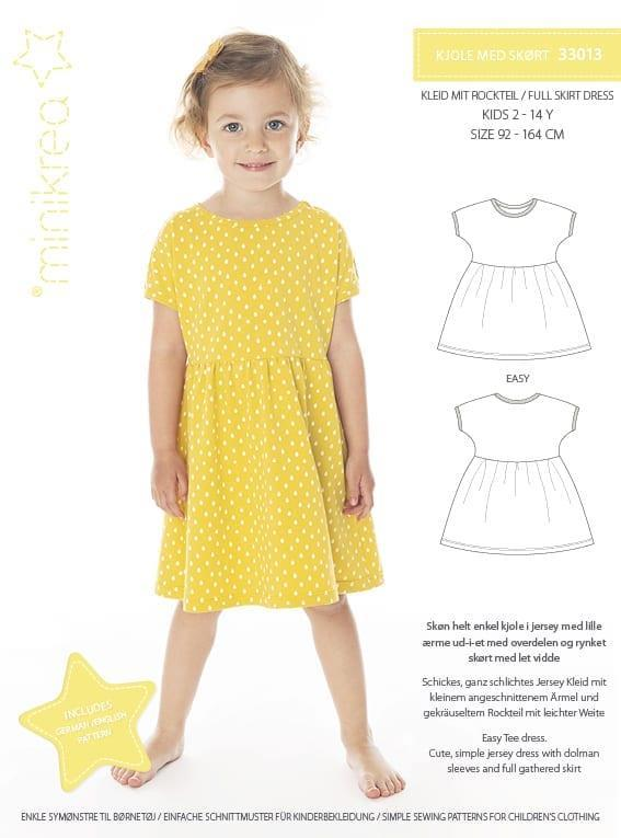 Minikrea: Kjole med skjørt 33013