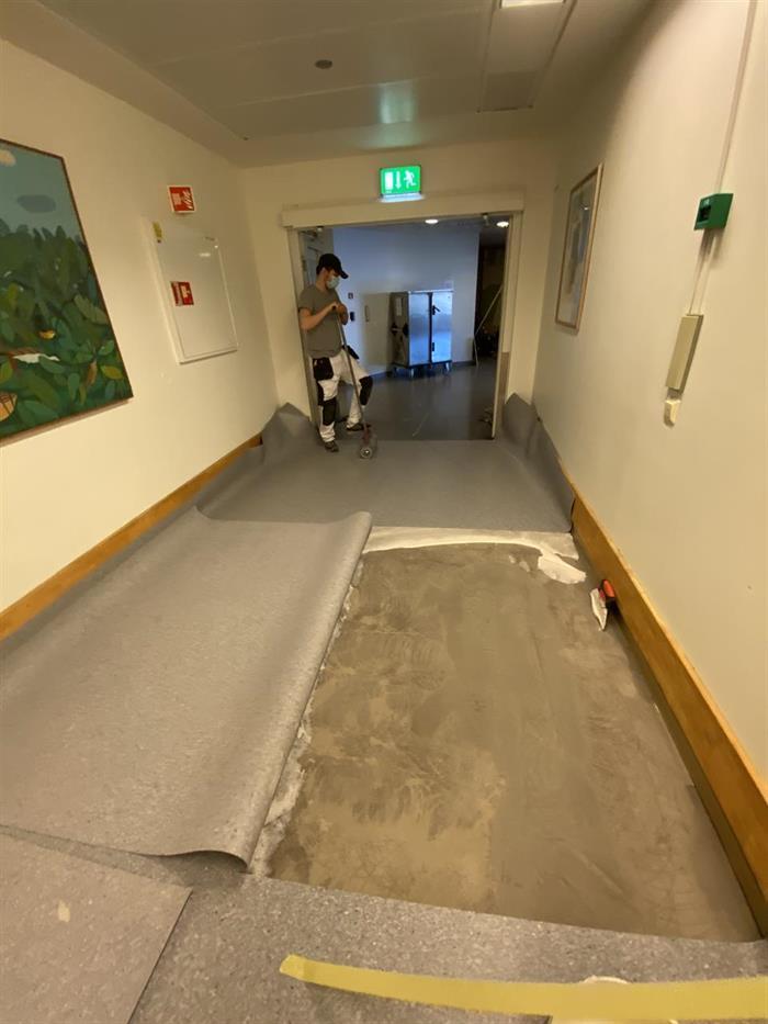 Maler og Gulvarbeider på Rikshospitalet