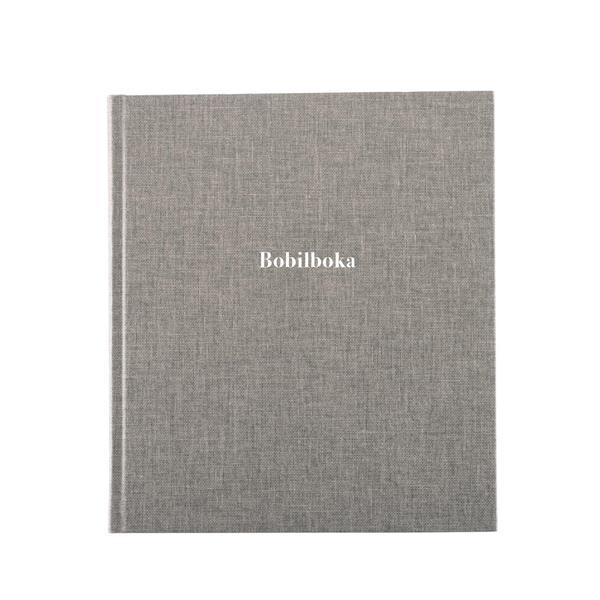 Bobilbok Record Grå