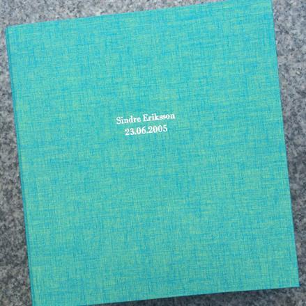 Hvit preg på duo turquoise perm 170x200