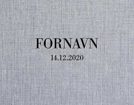 Personlig preging - Navn og fødselsdato