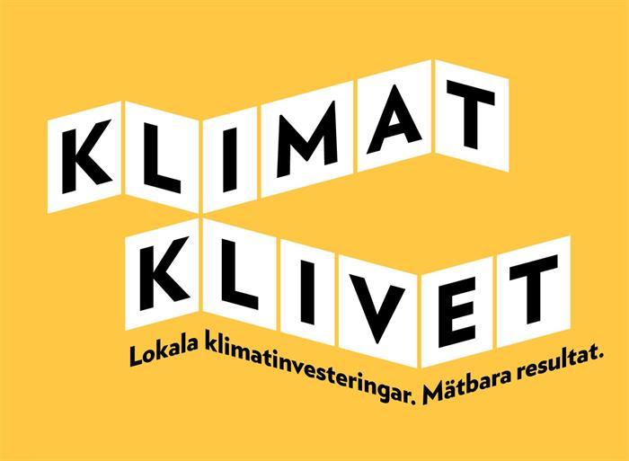 Sök stöd via Klimatklivet