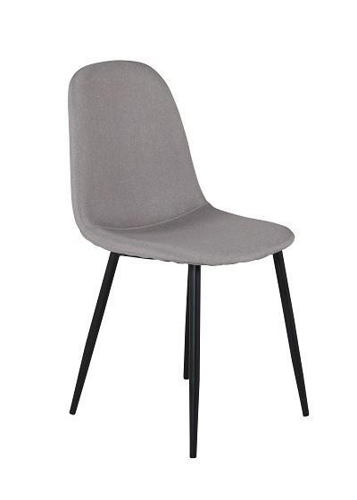 Polar matstol grå/svart