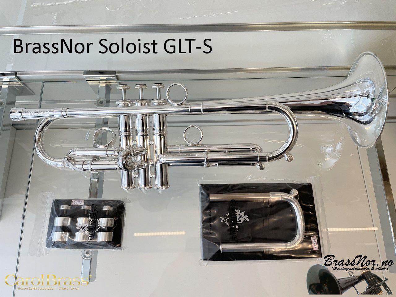 BrassNor Soloist 1110L  GLT Bb trompet sølv