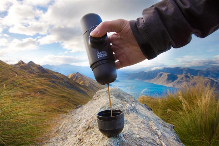 Espresso i vildmarken