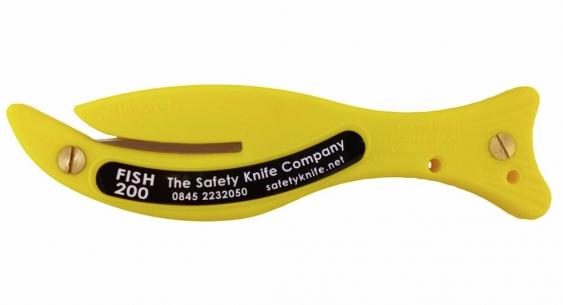Säkerhetskniv Fish 200H utan krok/tejpblad
