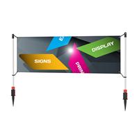 PVC Banner 4 x 1,5 m