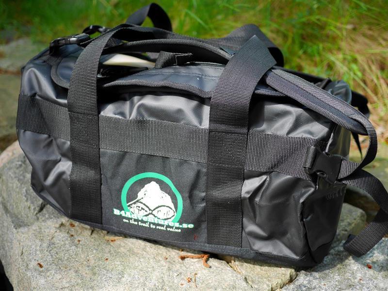 Vattenskyddad sportig väska