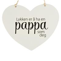 Lykken er å ha en pappa som deg