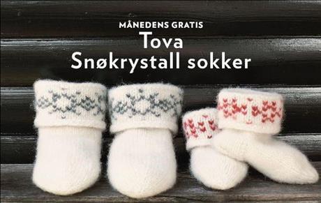 Snøkrystal sokker