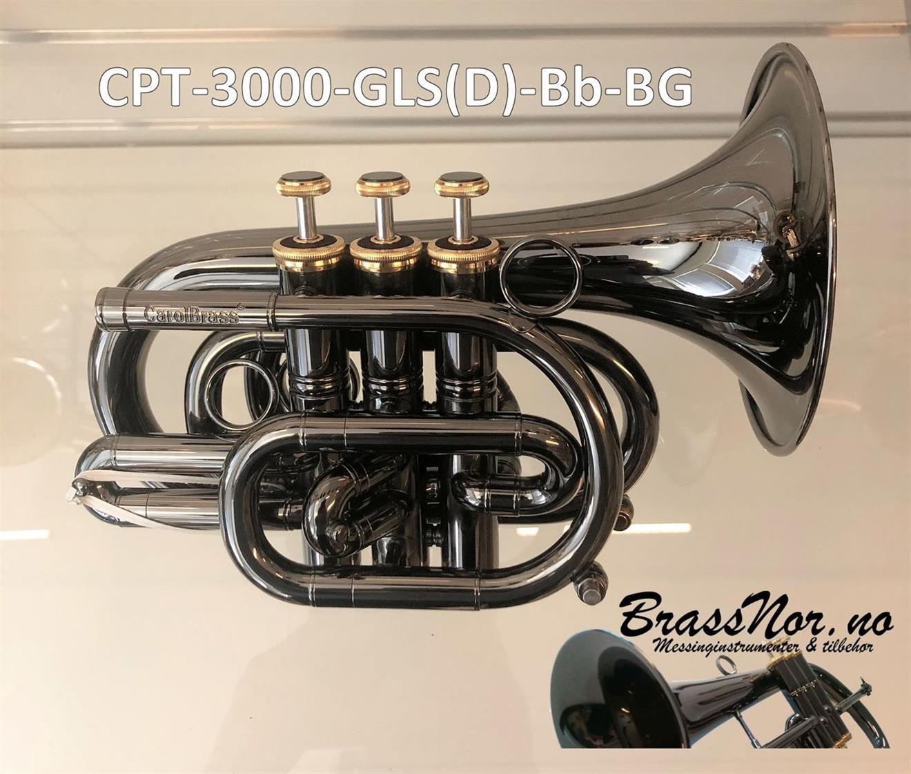 Pocket trompet CPT-3000-GLS (D)-BG Blackhawk