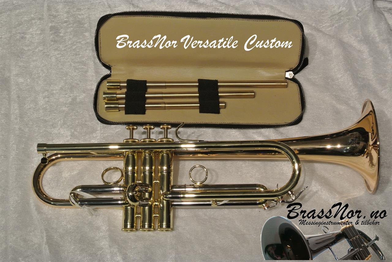 Bb Trompet BrassNor Versatile Custom GLT(D) lakk