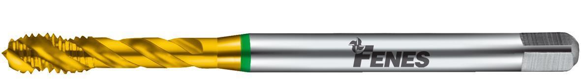 Fenes Gängtapp spiral 1200 TIN M16 DIN 376