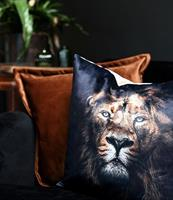 Putetrekk med løvemotiv