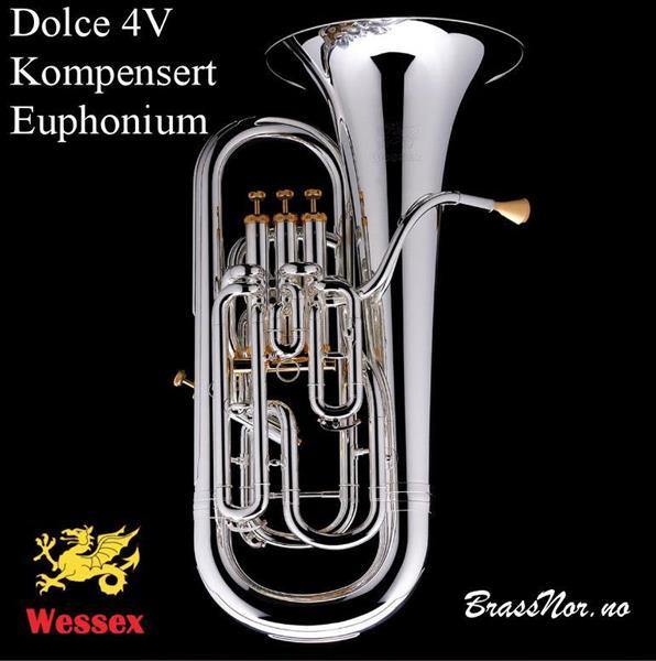 Wessex Euphonium Dolce sølv/gull