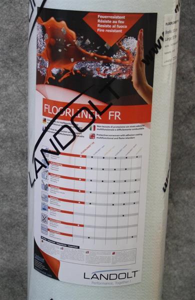 Landolt FR 2m x 50m, paloa jatkamaton, itsekiinnittyvä porras- ja lattiasuoja 15 / rll