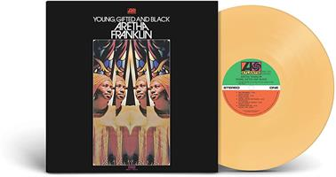 FRANKLIN ARETHA: YOUNG, GIFTED AND BLACK-LTD. BURNT ORANGE LP