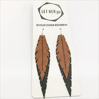 FENSI- korvakorut, musta/ruskea