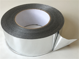 Poly-fix Metalliserad PP-tejp 50 mm x 110 m