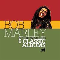 MARLEY BOB & THE WAILERS: 5 CLASSIC ALBUMS 5CD