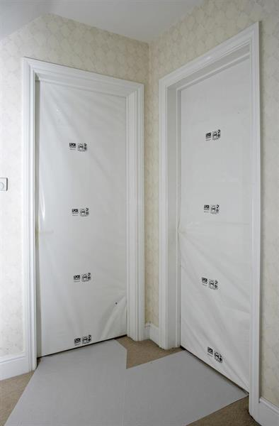 Dörrskyddsplastpåse 2200mm x 915mm x 20st