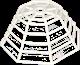 Skyddsgaller för detektorer (Ø205 x 82mm)