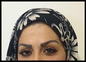 Ögonfransförlängning och ögonbryn classic