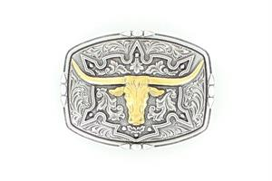 Longhorn square  buckle