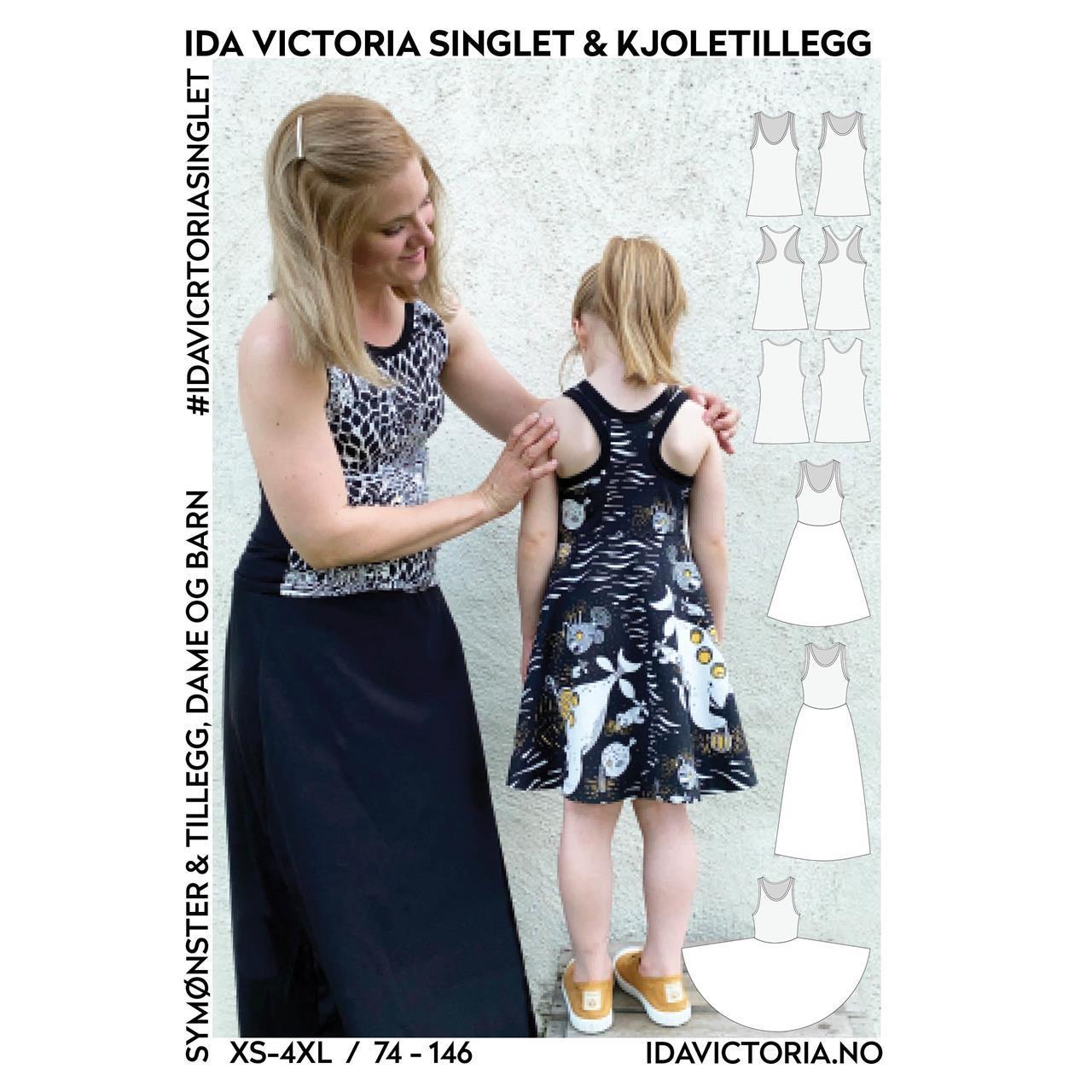 Ida Victoria singlet & kjoletillegg