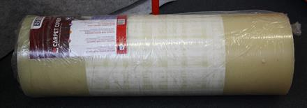 Carpet tekstiilimaton suojakalvo, 830mm x 500m 100mic Extra Strong