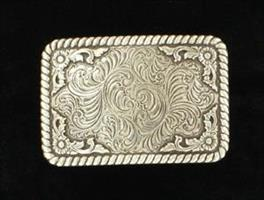 antiqued sqr buckle