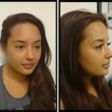 Ögonfransförlängning före och efter