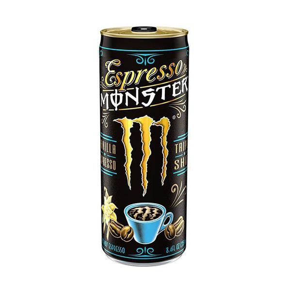 Monster Energy Iskaffe Espresso Vanilla 250 ml inkl.Pant