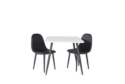 Polar bord 80X60 XXS vit/svart