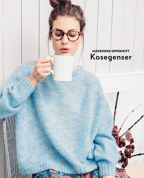 Månedens gratisoppskrift fra Sandnesgarn november 2019