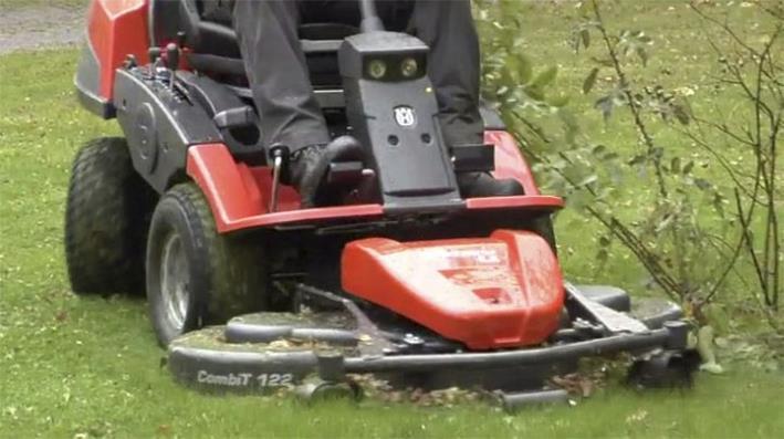 Maskinpark - Vi har en ny og moderne maskinpark for hage- og gårdsvedlikehold!