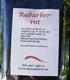 Rabarber-rot  100 gram