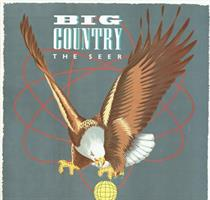 BIG COUNTRY: THE SEER (FINLAND 1986)-KÄYTETTY LP